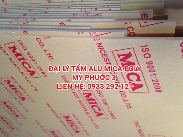Đại lý alu mica poly tại Mỹ Phước