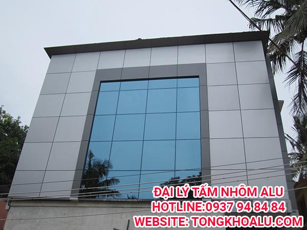 Tấm ốp nhôm aluminium composite panel