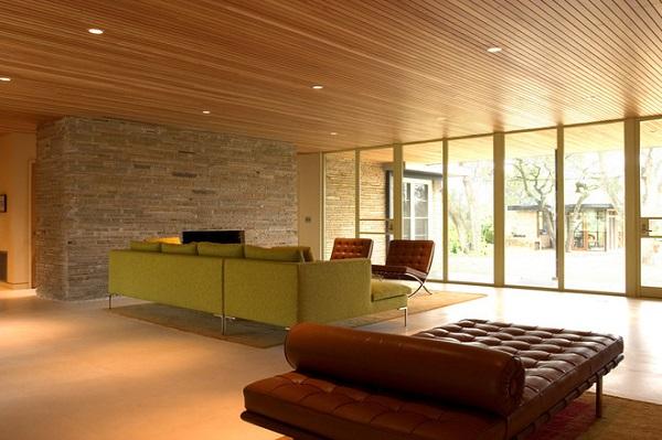 tran nhom van go don gian ma sang trong - Tấm nhôm nhựa màu vân gỗ đặc biệt trong nội thất