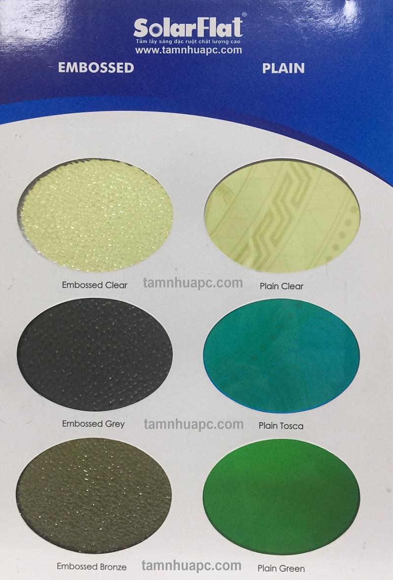 Ma mau poly dac 01 1 - Bảng giá tấm lợp polycarbonte lấy sáng thông minh