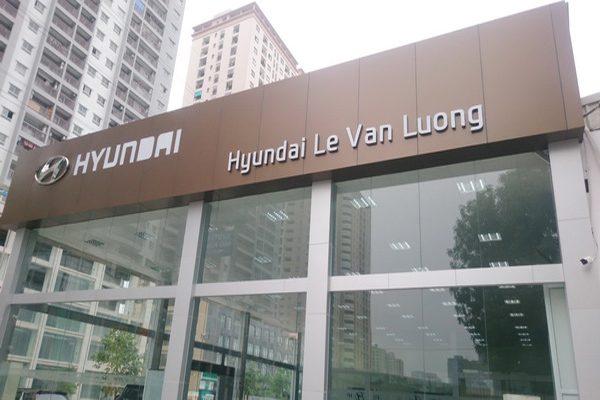 op alu 2 600x400 - Thi công ốp alu showroom Hyundai bằng tấm Alcorest