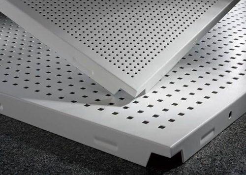 tran nhom tieu am1 500x356 - Trần nhôm Alcorest - Giải pháp tiêu âm, chống cháy cho các công trình