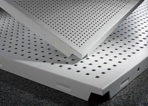 tran nhom tieu am1 - Trần nhôm Alcorest - Giải pháp tiêu âm, chống cháy cho các công trình
