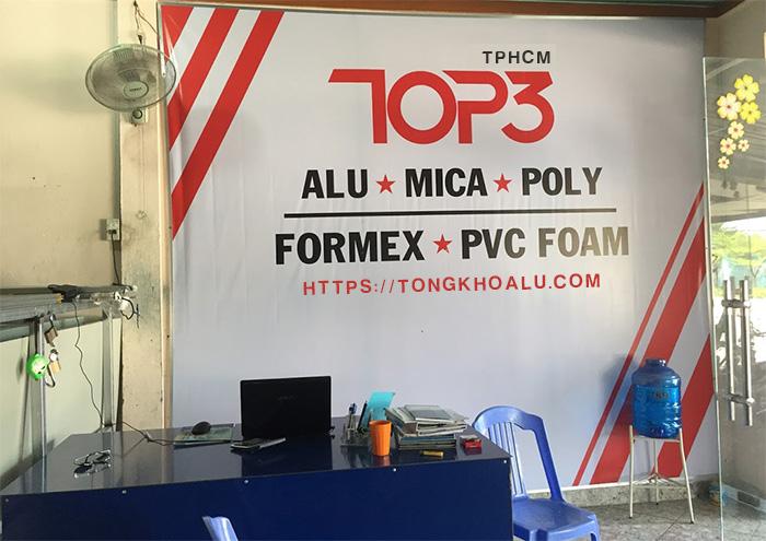 ALUTPHCM - Cung cấp vật tư quảng cáo alu mica poly Biên Hòa Đồng Nai