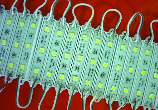 led module 3 bong 5050 600x420 - ĐÈN LED QUẢNG CÁO GIÁ RẺ TẠI TPHCM